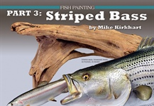 Part 3: Painted a Striped Bass Reproduction