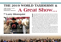The 2019 World Taxidermy and Fish Carving Championships