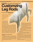 Professional Standards for Shipping, Part 1: Customizing Leg Rods
