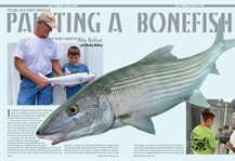 Passing on a Family Tradition Painting a Bonefish with Bradley Kirkhart