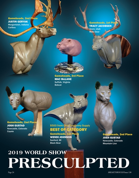 Pre-Sculpted Division:  2019 World Show
