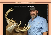 :  Part 5 FINISHING, Mounting a World Class Whitetail Deer