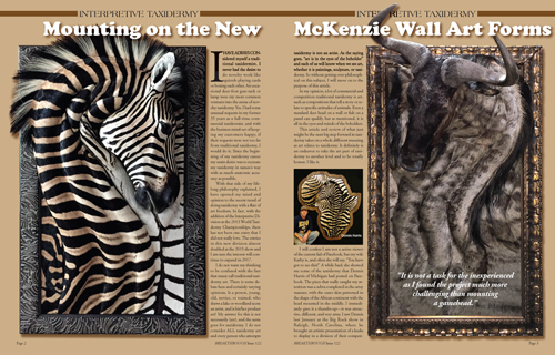 Mounting on the New McKenzie's New Wall Art Forms